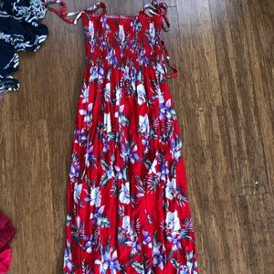 Hawaiian MUMU dress/maxi dress